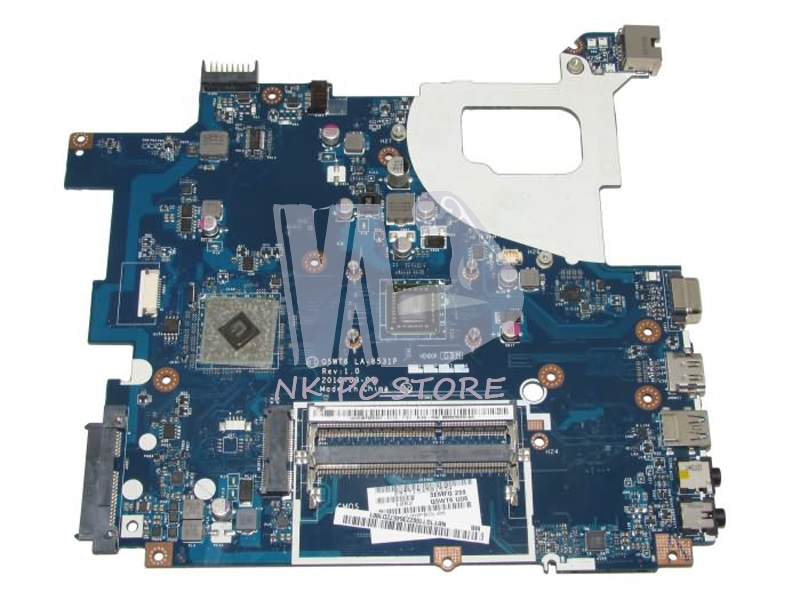 NBY1G11002 NB. Acer aspire Y1G11.002 E1-521 Laptop anakart Q5WT6 LA-8531P DDR3 E1200 CPU