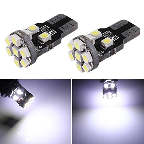 T10 W5W 42 LED 1206 SMD Oto Voiture Vehicule Ampul Lampe 194 168 Blanc DC 12 V