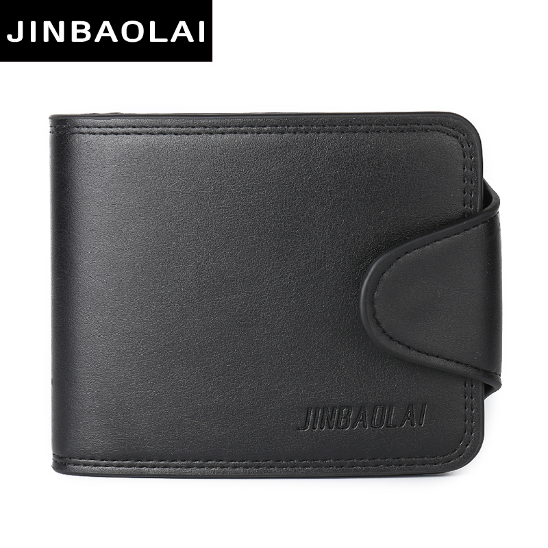 Men Wallets Quality Guarantee PU Leather Purse With Coin Pocket Black Brown Wallet Zipper Bag Credit Card Holder New Wallet Men