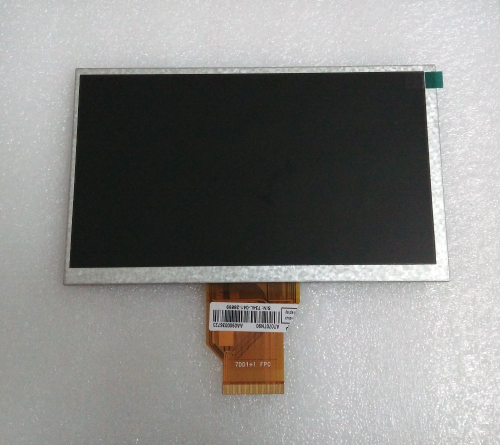 7.0 INNOLUX AT070TN92 vx LCD Ekran 7DD1 + 1 Tablet için FPC 800*480 Araba DVD lcd 165*100*3mm