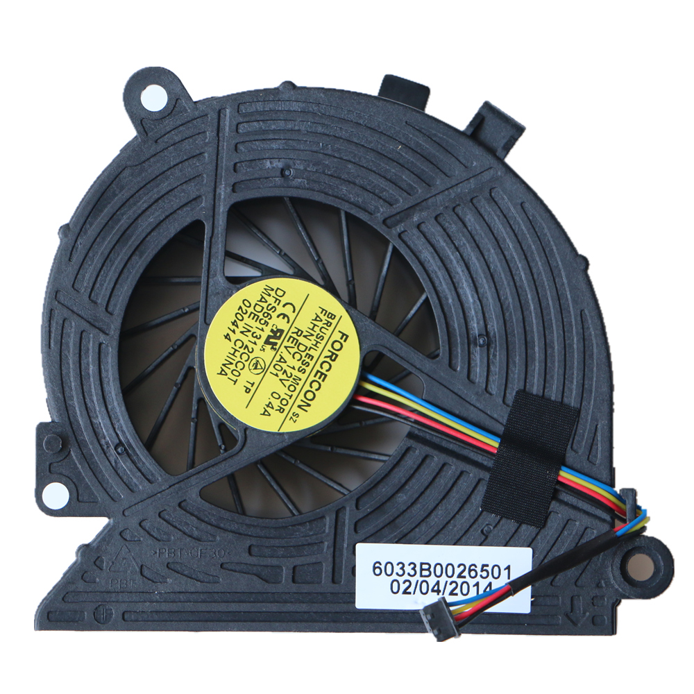 Yeni Cpu Fan Hp All-In-One 18-1000 18-1200CX 23-G013W Cpu Soğutma Fanı 6033B0026501 DFS651312CC0T FAHN 739393-001
